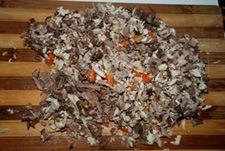 Carne para croquetas puchero