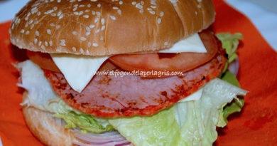 Hamburguesa de lomo