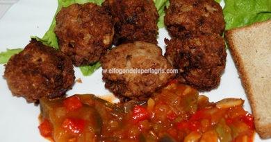 Chiftele o albóndigas rumanas