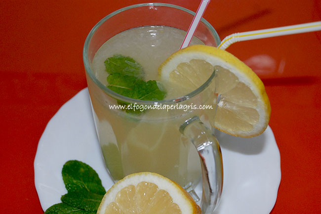 Limonada en la Thermomix