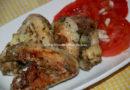 Alitas de pollo al romero con bolsa