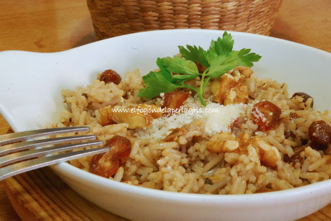 Arroz con frutos secos