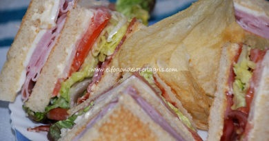 California Club Sándwich