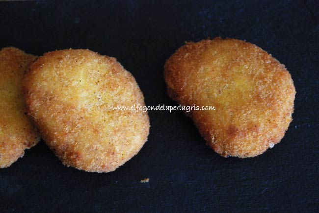 Nuggets de pollo veganos