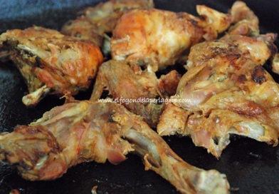 Pollo piri piri de Portugal o frango com piri piri