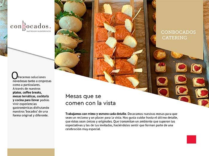 Mesas ConBocados Catering