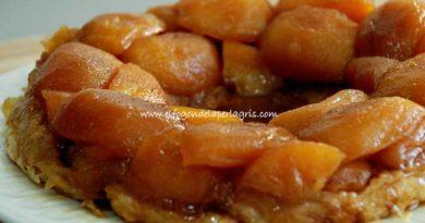 Tarta Tatín de manzanas, receta con hojaldre